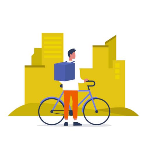 ウーバーイーツ(UberEats)バイト事典のメイン画像