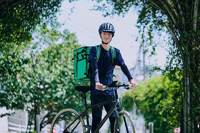 「Uber Eats(ウーバーイーツ)」自転車配達・デリバリーアプリ