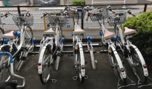 ウーバーイーツ副業週末は電動自転車をレンタルする画像
