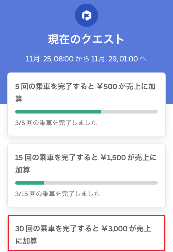 Uber Eats(ウーバーイーツ) 大阪はバイトより稼げるかトライした結果インセンティブを獲得した画像2