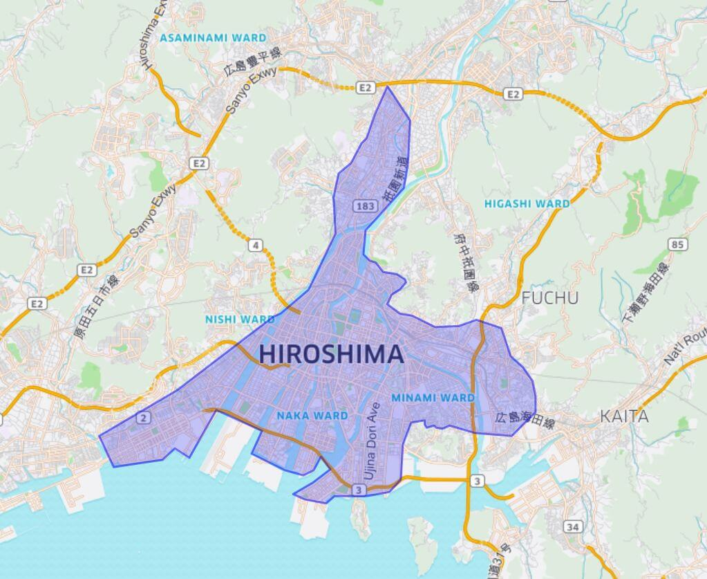 Uber Eats (ウーバーイーツ)広島エリアの画像