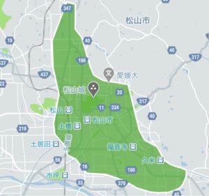Uber Eats (ウーバーイーツ)愛媛/松山エリアの画像