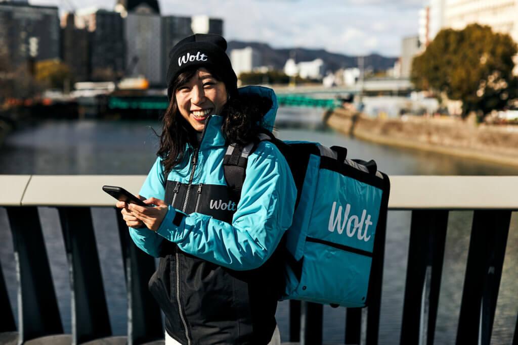 「Wolt(ウィルト)」自転車配達員・デリバリーバイトのアプリ