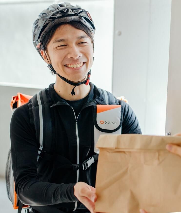 「DiDi Food(ディディフード)」自転車配達員・デリバリーバイトのアプリ