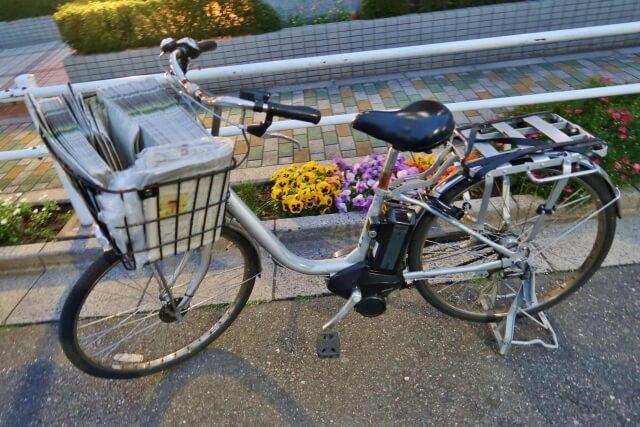 おすすめ自転車配達バイトその①「新聞配達」の仕事