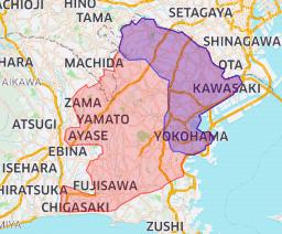2020年7月15日(水)より新しく大和市、座間市、綾瀬市、藤沢市、茅ヶ崎市へ拡大します