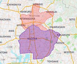 2020年8月20日(木)より北名古屋市、小牧市、清須市、春日井市、豊山町へ拡大します