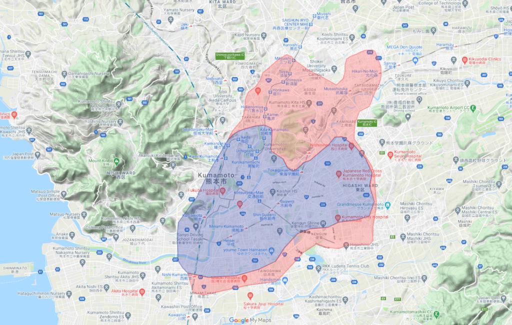 2020年8月11日(火) Uber Eats(ウーバーイーツ)熊本エリアへ拡大します