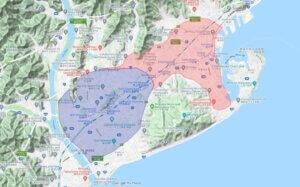 Uber Eats ウーバーイーツ 静岡エリア拡大